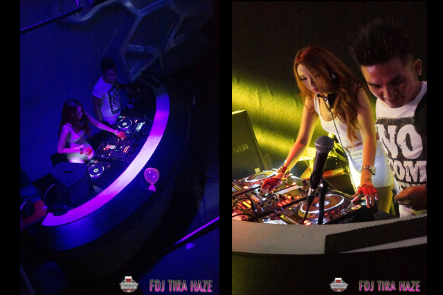 FDJ TIRA HAZE @ mansion lounge palembang 3