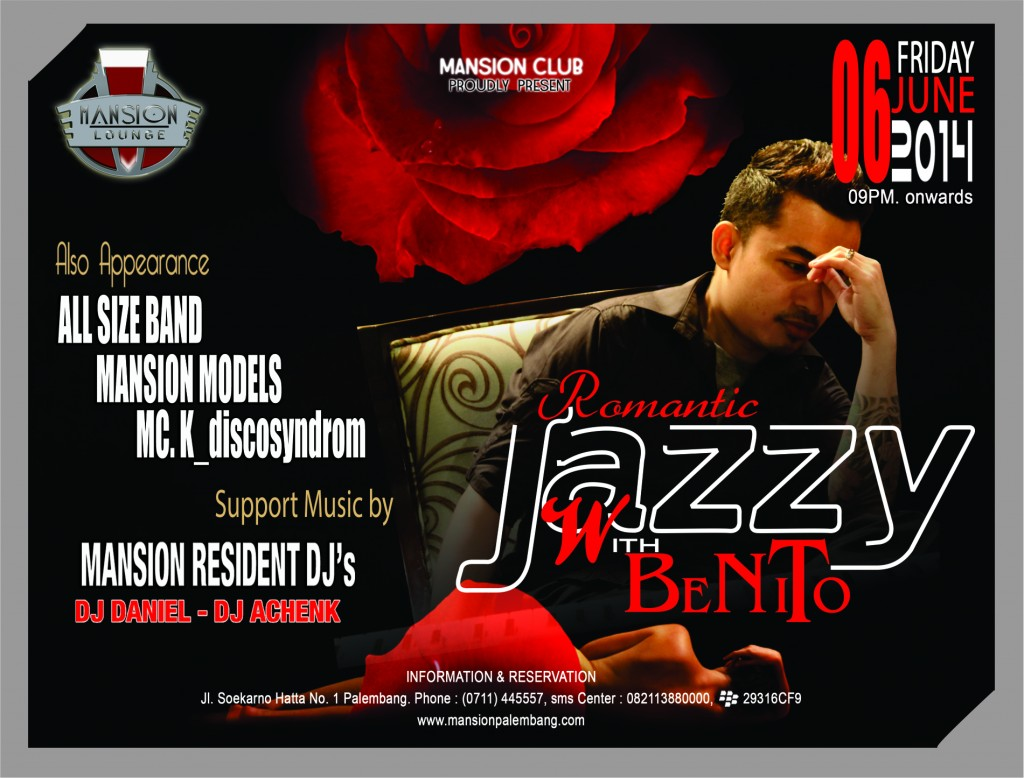 MANSION EVENT BENITO 6 Juni 2014
