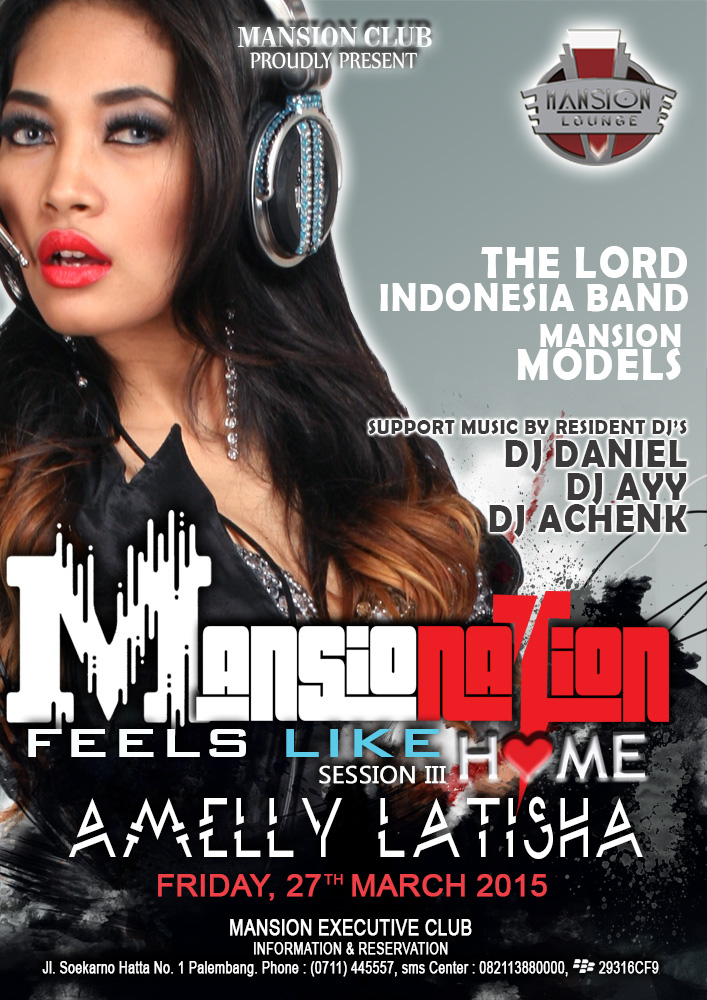 Mansion Executive Club event tgl 27  maret 2015 Amelly Latisha
