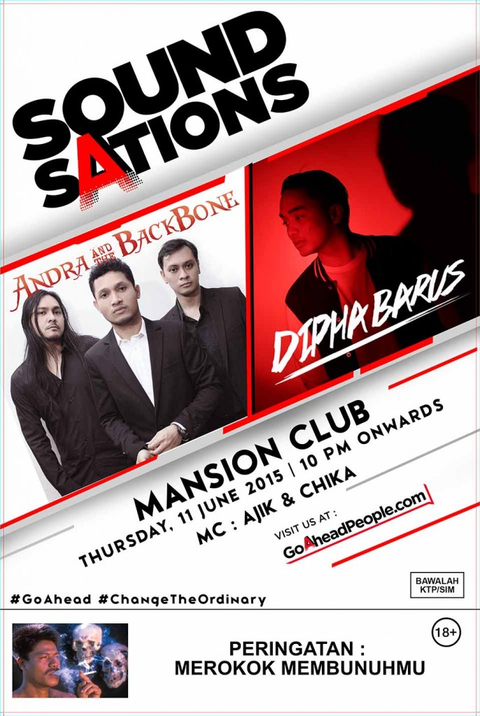 MANSION EXECUTIVE CLUB EVENT 11 JUNI 2015 ANDRA AND THE BACKBOUND