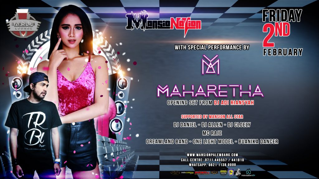 mansionation with DJ MAHARETHA 2 Feb 2018