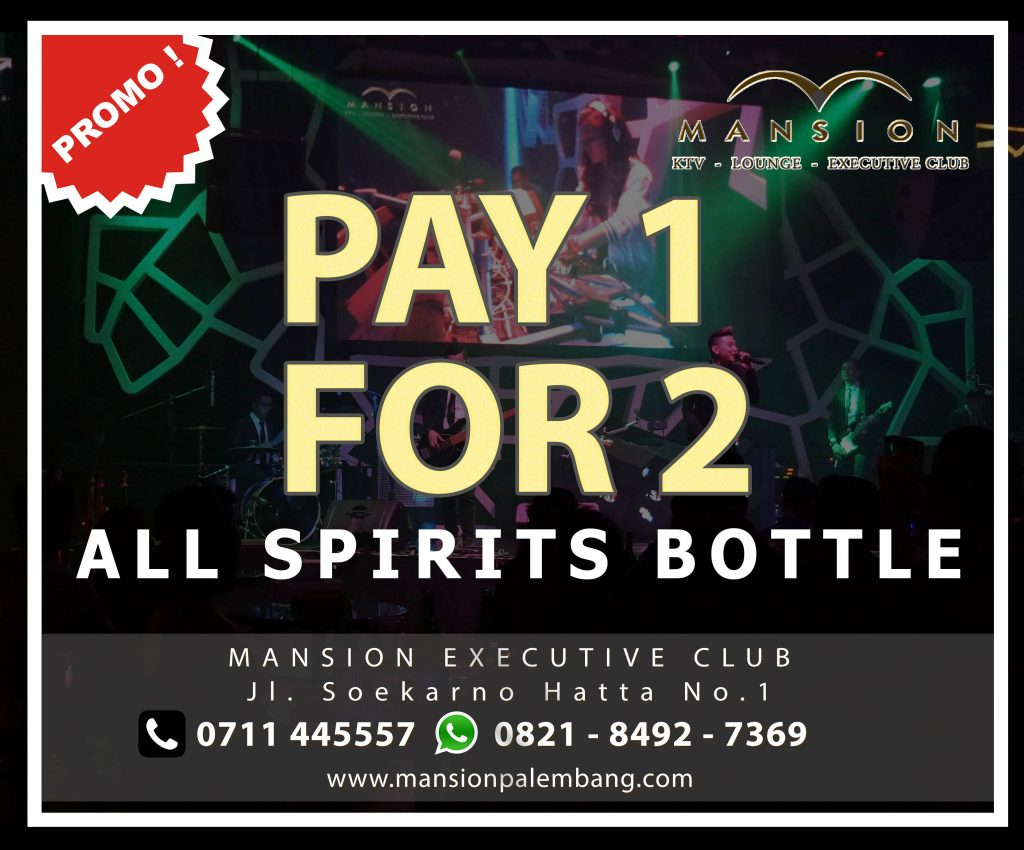 Promo PAY 1 For 2 Bottle Media